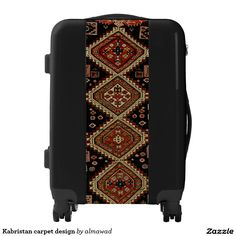 Kabristan carpet design luggage