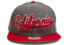 NEW ERA California Angels Scripter 2 9Fifty Snapback    Grey / Red / White    This 9FIFTY cap features an embroidered (raised) California Angels script team namesake at front, a stitched New Era flag at wearer's left side, and a stitched team logo at wearer's right side. A snapback closure for an adjustable fit. Interior includes branded taping and a moisture absorbing sweatband.  New Era flag may vary in color with the image featured on site.    100% Wool.