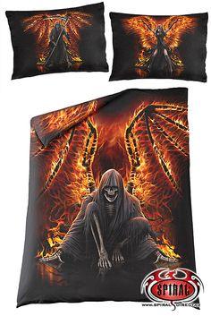 POVLEČENÍ SPIRAL DIRECT FLAMING DEATH WR145926