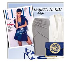 """""""DAREEN HAKIM - SHOP"""" by monmondefou ❤ liked on Polyvore featuring GUESS, Victoria Beckham and dareenhakim"""