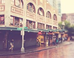Pike Place photograph downtown Seattle Starbucks by MyanSoffia, $32.00