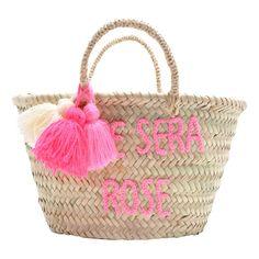 Panier pompon brodé L'été sera rose Rose in April Enfant- Large choix de Design sur Smallable, le Family Concept Store - Plus de 600 marques.