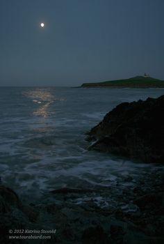 moonlight over the sea at Ballycotton #ireland #moonlight #ocean #sea #ireland http://www.tourabsurd.com/irish-christmas/