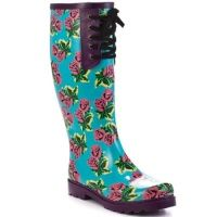 Betsey Johnson rain boots - got these for Xmas