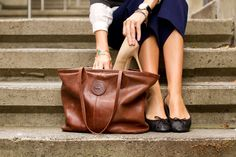 Styling My Life: OFK Leather Tote Giveaway! #onefatedknight