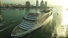 cool MSC Cruises' MSC Divina's Miami arrival - CruiseGuy.com