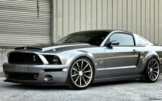 Ford Mustang GT Super Snake on Vossen Wheels