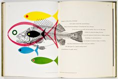 Bradbury Thompson, Spread from Westvaco II: Inspiration for Printers 1953-55 bradbury thompson, graphic designers, color, influenti design, book, rainbow fish, bradburi thompson, westvaco, illustr