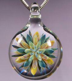 Sea Anemone Pendant by Glass Peace