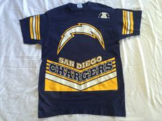 #vintage #90s S #SanDiego #sd #CHARGERS #Shirt by VintageShat on Etsy