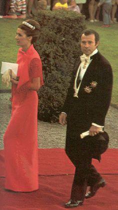 Alfonso, Duke of Anjou and Cádiz with wife Doña María del Carmen Martínez-Bordiú y Franco