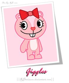happy tree friends giggles - Google Search