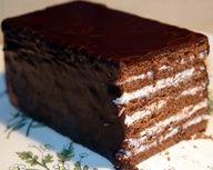 Seven Layer Gluten-Free Devils Food Cake.