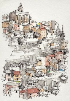 0265a8a9a7ae63c8a26b6049a90d028e--architecture-sketches-architecture-illustrations.jpg (236×338)