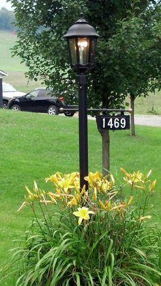 Ceramic House Sign Number Plaque For Lamp Post By