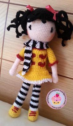 doll crochet amigurumi toy ganchillo comprala en amigurumisnajma.wordpress.com