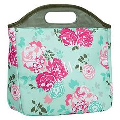 23018526d22 Gear-Up Garden Party Floral Lunch Tote  pbteen Girls Lunch Bags, Best Lunch