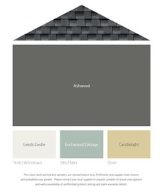 Lp Smart Side Color Palettes House Siding Colorterior