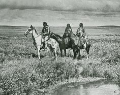 Three Blackfoot ChiefsGeorge Bird Grinnell invited Edward S. Curtis to photograph the Blackfoot in 1900, and a tour that included this photograph would lead, six years later, to J.P. Morgan funding Curtis's monumental The North American Indian project.– True West archives –