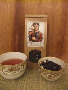 Oh my goodness, this person makes Doctor Who and Sherlock themed tea! Hello Christmas wishlist....