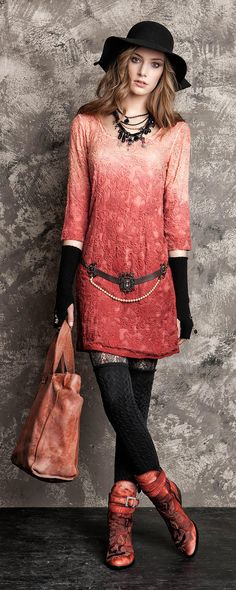 Is there anything that Daniela Dallavale designs that is not fabulous? I love this one...and the boots.  Oh the boots!