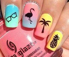 #vacaynails #cute #summertimevibes