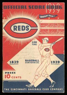 Official Score Book 1939
