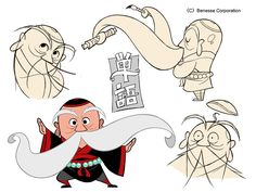 Character design by Gurihiru for English teaching materials.