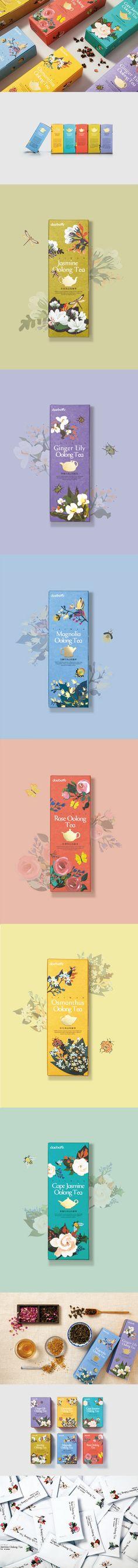 窨花茶系列包装