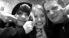 My kiddos  Levi, Danielle, and Luke (Left to right)