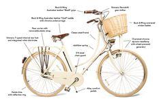 The Carolina - Mosi Bicycles the stylish way to ride.