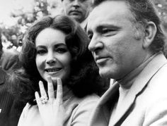 In 1968 (four years into their first marriage), Richard Burton gave Elizabeth Taylor the Krupp Diamond, a 33.19-carat Asscher-cut jewel. Though not technically an engagement ring, it's one of the most iconic pieces of jewelry of all time.