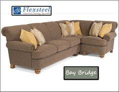 mariana tight back fabric sectional wnailhead trim For the Home
