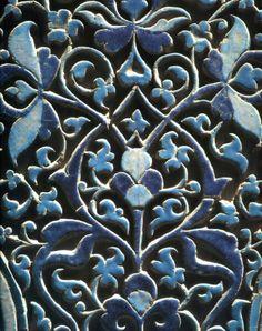 Iran, Shad-I Mulk Aga Mausoleum - 'Pierced' Glazed Tile, Seljuk Inspired (13th century)