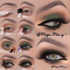 .@Maya Mia   Smokey Brown, Green And Gold Pictorial 1.apply Nyx Jumbo Pencil Milk Allove…   Webstagram – The Best Instagram Viewer - Click for More...