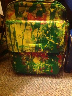 Front of Stylish Jamaican Bag