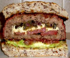 Stuffed Burger. My mouth literally started watering