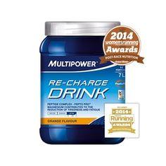 Bebida Recuperadora Re-Charge Drink Multipower 630g Naranja