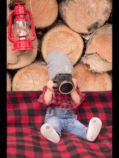 Lumberjack birthday party, Lumberjack smash cake photoshoot. First birthday party.