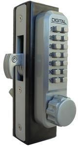 Lockey digital m210 mechanical keyless entry for Stanley home designs bb8024 hinge pin door stop satin nickel