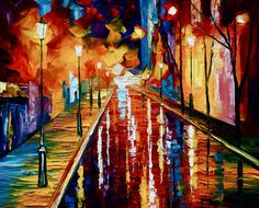for ebay 16x20 - oil painting by Leonid Afremov | by Leonid Afremov Art Gallery