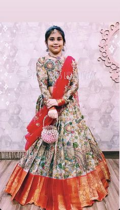 Kids Party Wear Dresses, Kids Dress Wear, Kids Gown, Dresses Kids Girl, Girls Frock Design, Long Dress Design, Kids Frocks Design, Indian Fashion Dresses, Indian Gowns Dresses