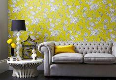 Le papier-peint fleuri, bien installé dans la maison - Maison : les best-sellers de la déco - Femme Actuelle