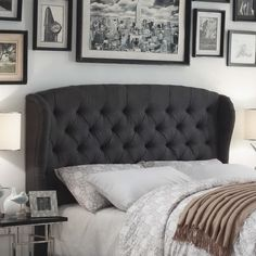 There's something so inviting about an upholstered headboard — and particularly a tufted headboard, which combines the coziness of an upholstered headboard with a touch of old-world glamour. If you'd like to add a bit of luxury to your bedroom, check out this roundup of 11 beautiful headboards for any budget.