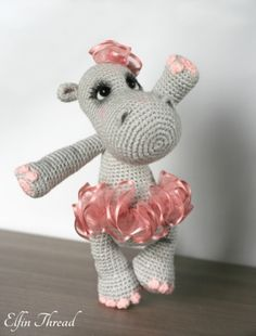 Happiness the Hippo - Amigurumipatterns.net