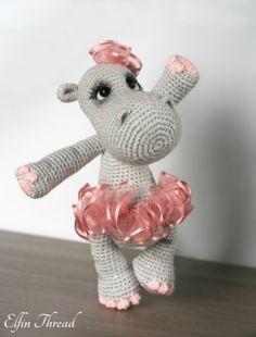 Happiness the Hippo - Amigurumipatterns.net