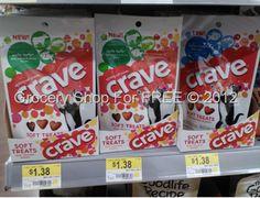 Crave Cat Treats Just $.19 At Walmart!