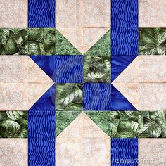Twisted Ribbon Quilt Square by 2longdogs, via Dreamstime