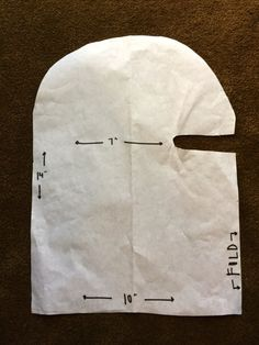 My Emiline. Living. Kids. Crafts.: Ninja Mask Tutorial