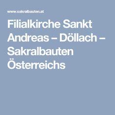 Filialkirche Sankt Andreas – Döllach – Sakralbauten Österreichs